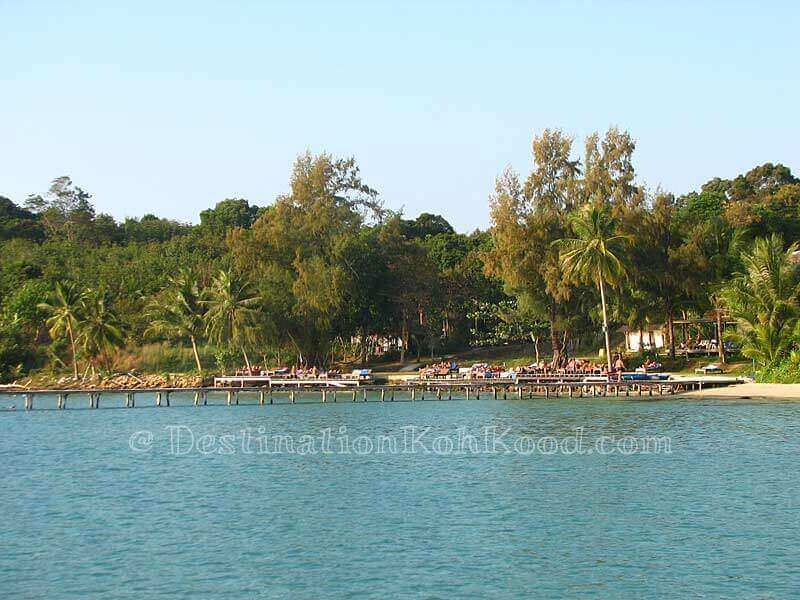Beachfront Area (high tide) - Koh Kood Resort