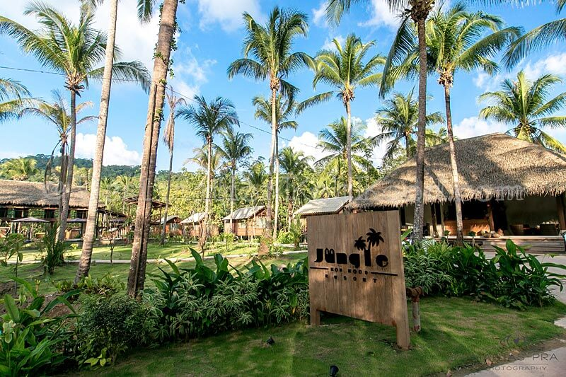 Entrance - Jungle Koh Kood Resort