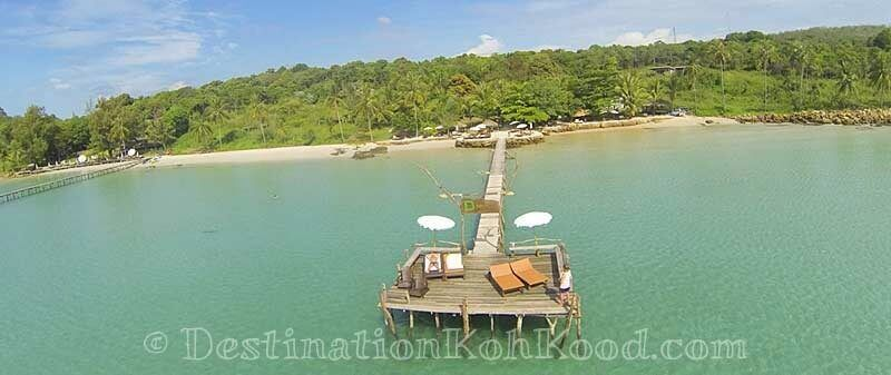 Private pier - The Beach Natural Resort