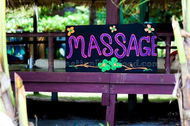 Massage - Siam Beach Resort