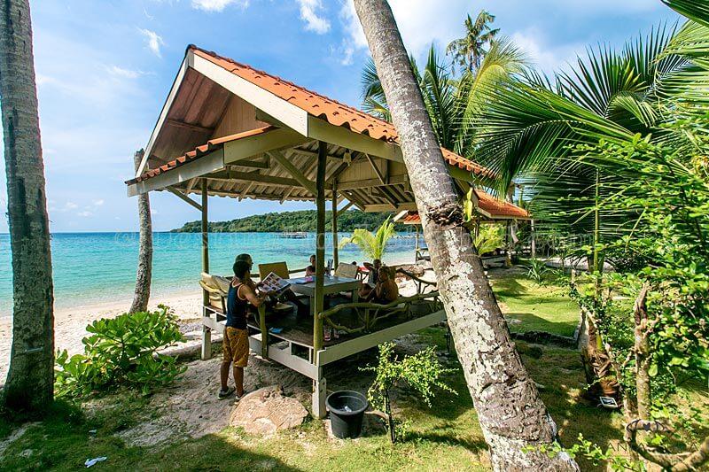Restaurant / Beach - Siam Beach Resort