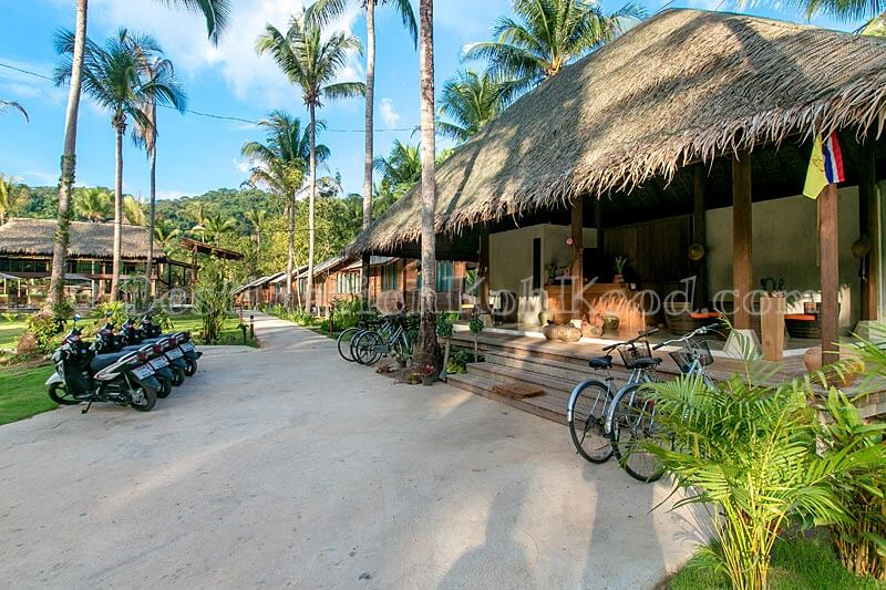 Scooters & Bicycles for Rent - Jungle Koh Kood Resort