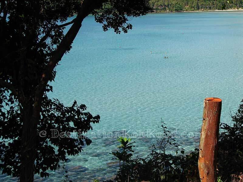 View from Goodview Resort - Klong Chao Beach