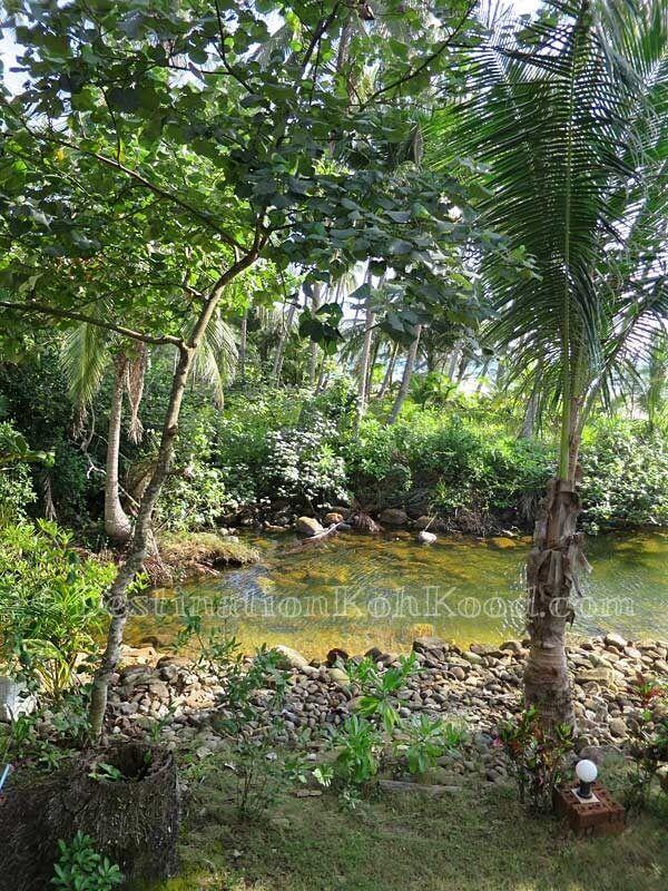 River to beach - The Sunshine Resort