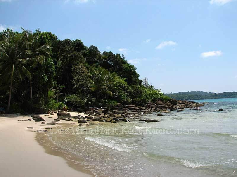 View towards Goodview Resort - Klong Chao Beach