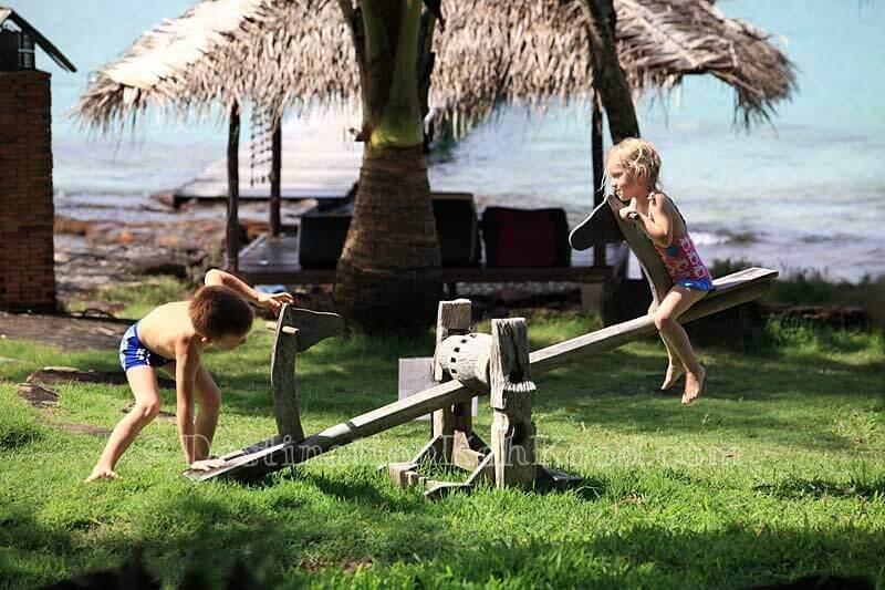 Playground - The Beach Natural Resort