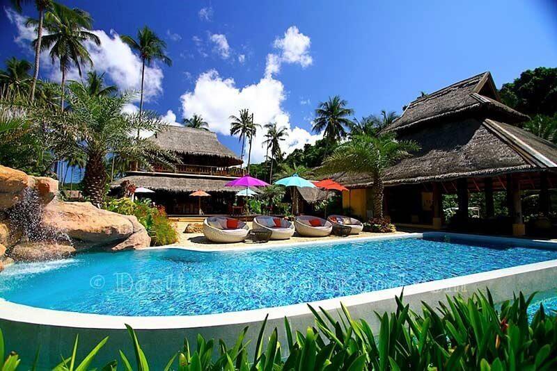 Pool, lobby & restaurant - Tinkerbell Resort