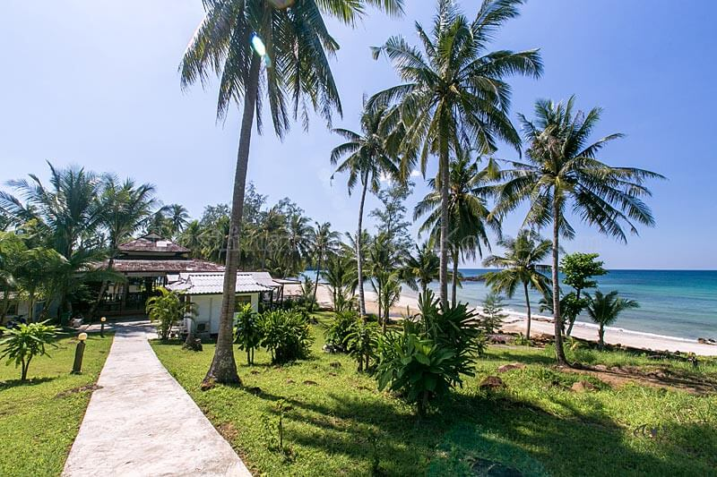 From Bungalows to Restaurant - S-Beach Resort