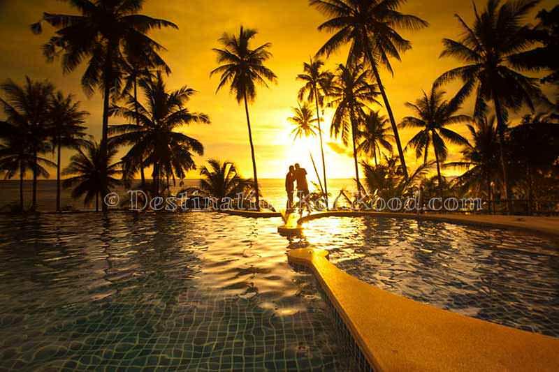 Infinity Swimming Pool - Koh Kood Beach Resort