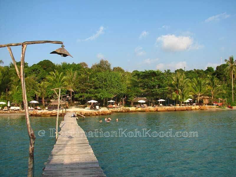 The Beach Natural Resort during high tide - Bang Bao Bay
