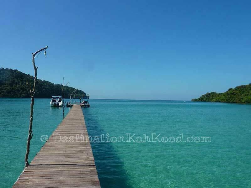 Pier of Koh Kood Resort - Koh Kood Resort