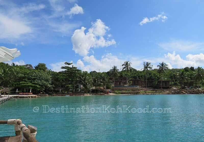 To The Sea Resort during high tide - Bang Bao Bay