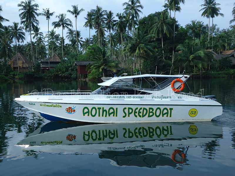 Ao Thai Speedboat (private charter) - Boats to Koh Kood
