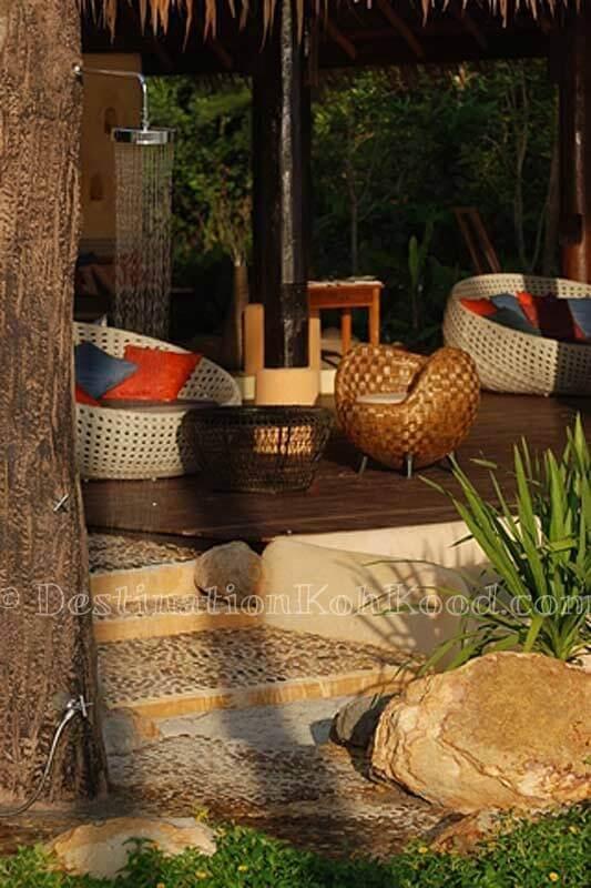 Beach shower - Tinkerbell Resort