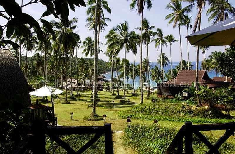 View from Thai Twin House - Koh Kood Beach Resort