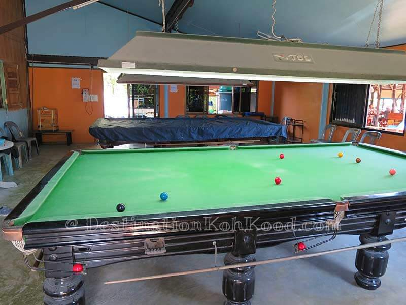 Lovely Bungalow Billiards Part - 11: Snooker Room - Mark House Bungalow