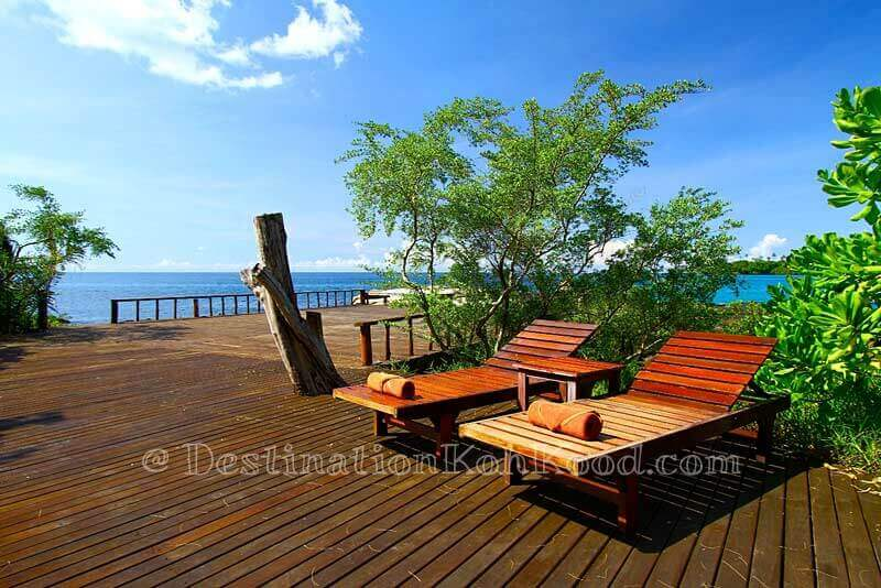 Sun deck - Captain Hook Resort