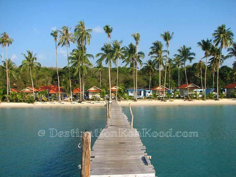 Siam Beach Resort (high tide) - Bang Bao Bay