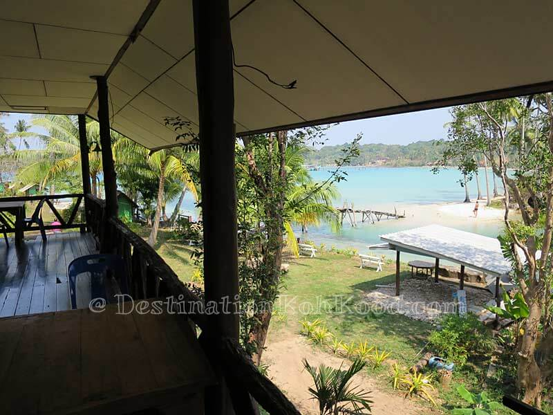 View from Guesthouse (2nd Floor) - Sand and Sea