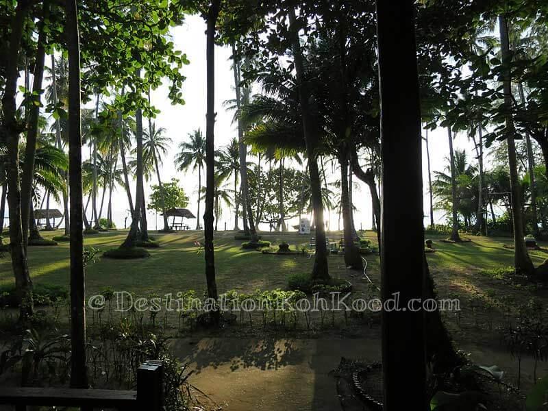 View from Room A - Koh Kood Cabana
