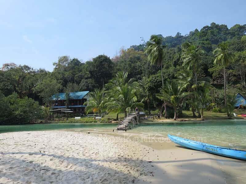 Bridge to Sand and Sea & Koh Kood Divers - Bang Bao Bay