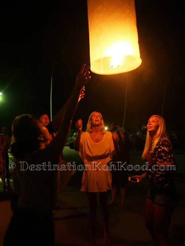 Lanterns at special occasions - The Beach Natural Resort