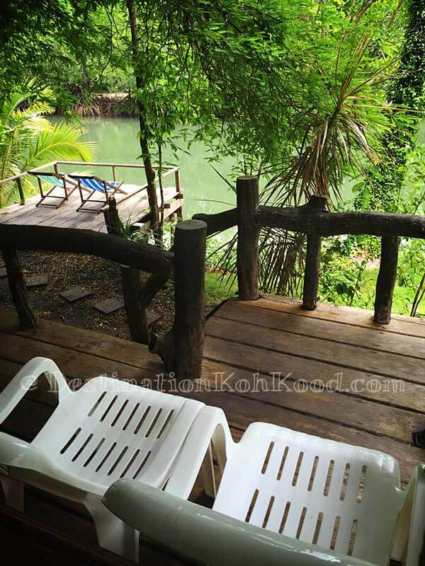 View from River Front Bungalow - Mangrove Bungalow