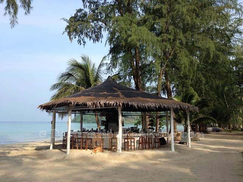 Cocktail Bar of Peter Pan Resort - Klong Chao Beach