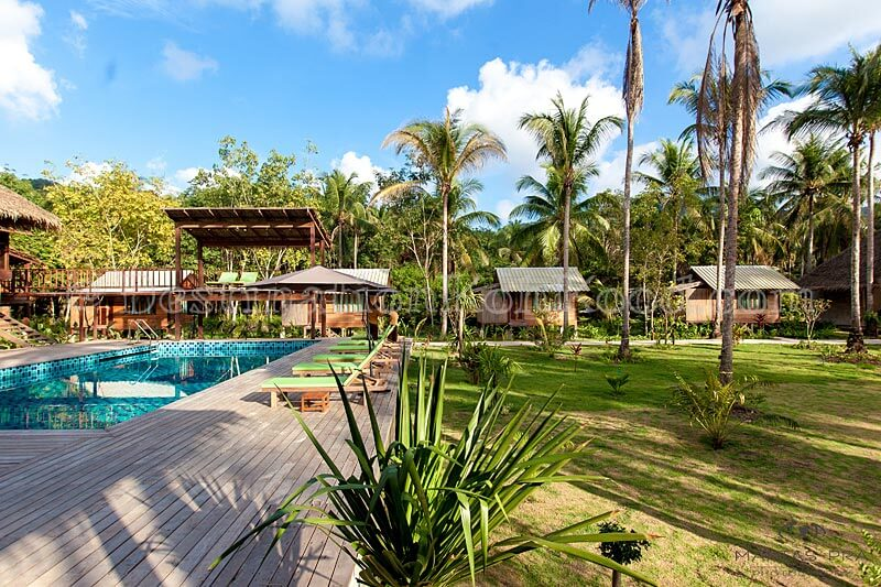 Pool Area - Jungle Koh Kood Resort