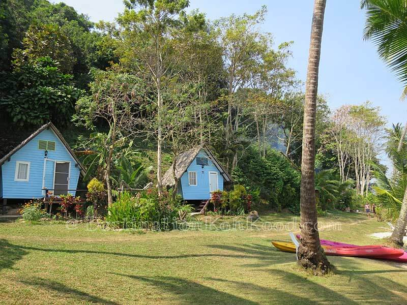 Fan Bungalows - Sand and Sea