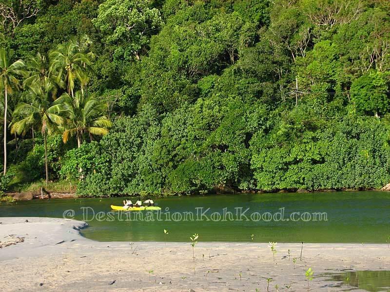 Klong Chao River - Klong Chao Beach