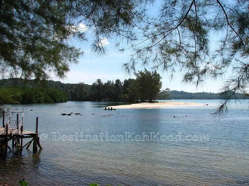 View from Away Resort - Klong Chao Beach