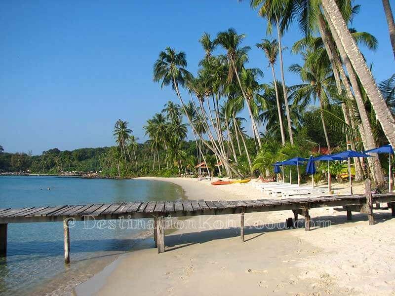 Pier of Siam Beach Resort - Bang Bao Bay