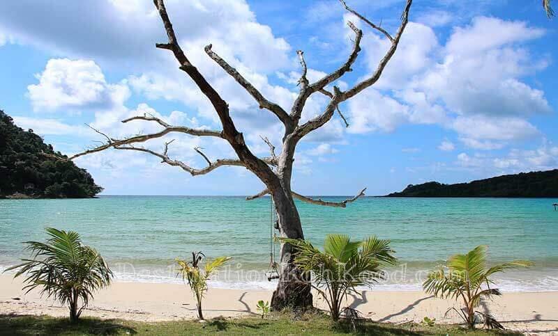 View from Siam Beach Resort - Bang Bao Bay