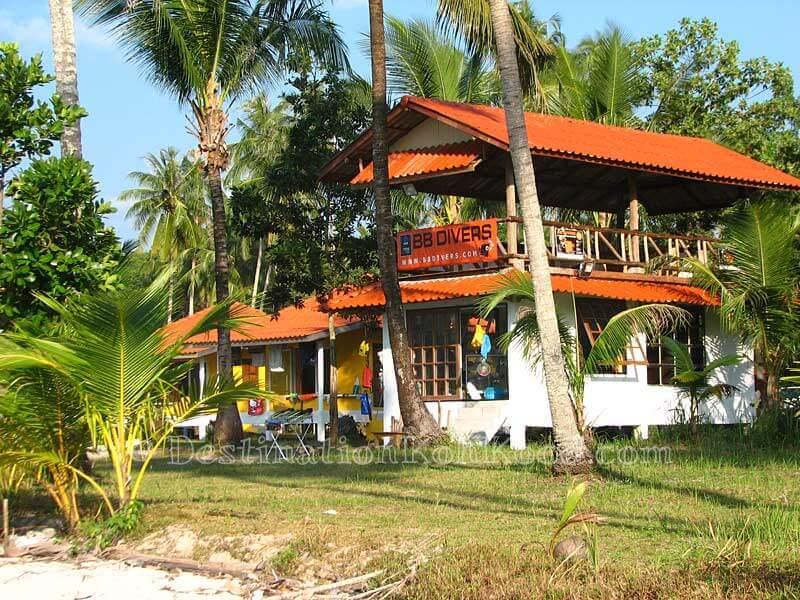BB Divers Shop at Siam Beach Resort - Bang Bao Bay