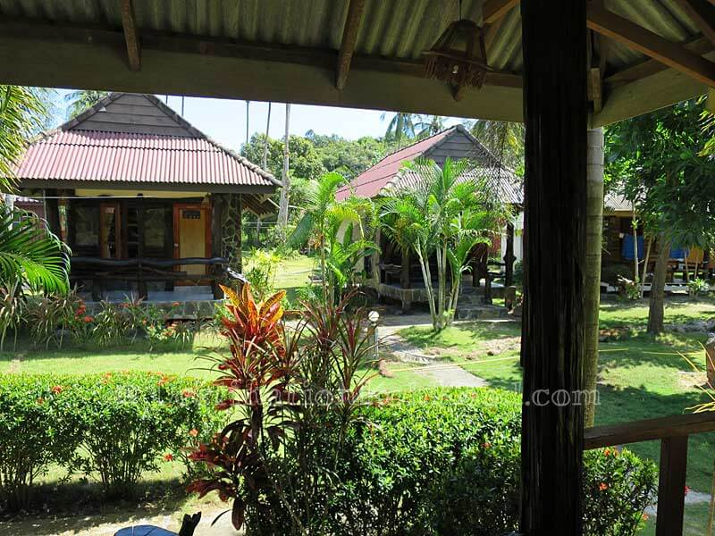 View from Garden Bungalow - Mark House Bungalow