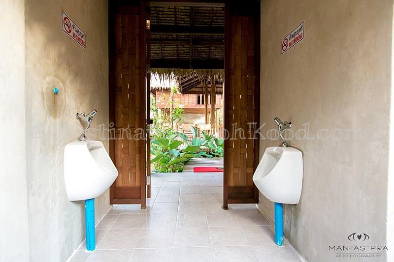 Toilets - Jungle Koh Kood Resort