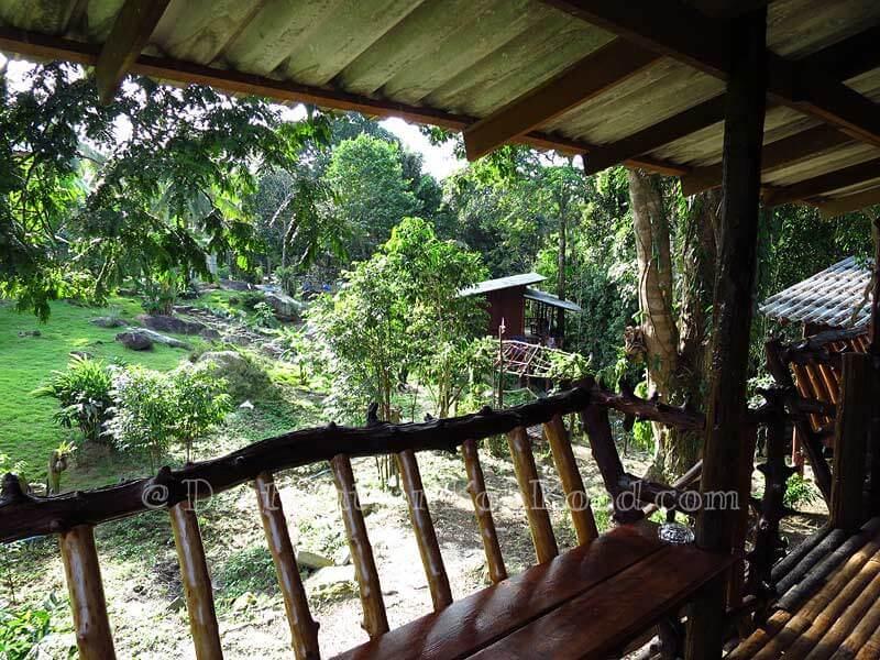 Garden Hut (View) - Eve House