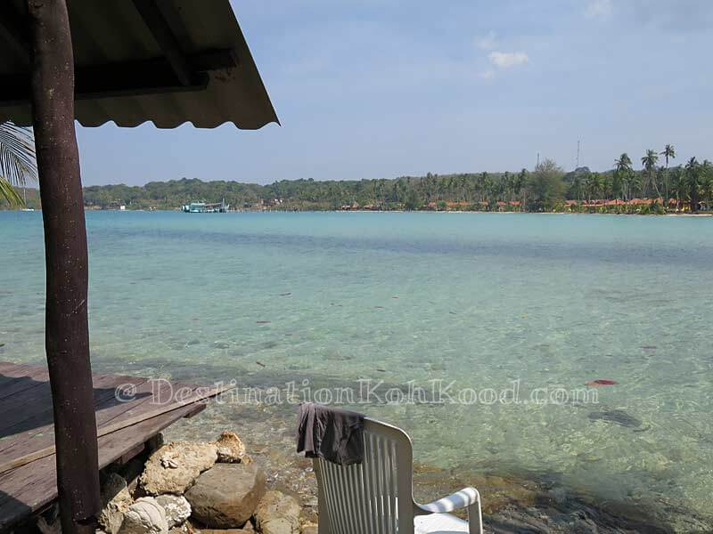 View from a Bamboo Sea Hut - Sand and Sea