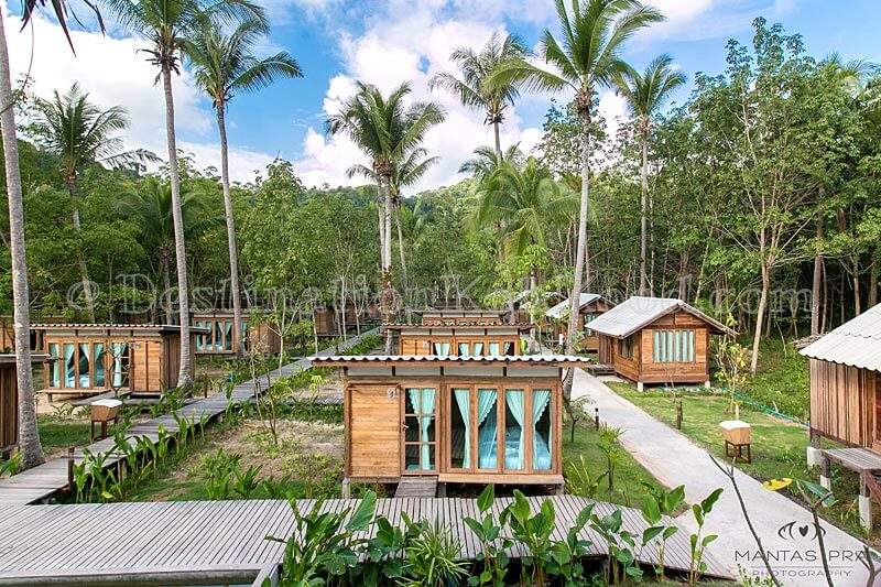Type A (right) and Type B (middle & left) - Jungle Koh Kood Resort